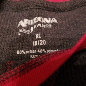Arizona Jean Company Shirts & Tops - NWOT Grey & Red Thermal